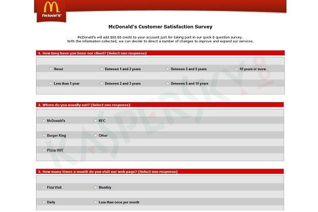 Sfałszowana ankieta zadowolenia klienta /materiały prasowe