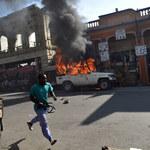 Sfałszowano wybory na Haiti? Stolica kraju w ogniu