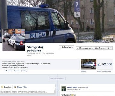 """""""Sfotografuj policjanta"""" - akcja, która stała się hitem"""