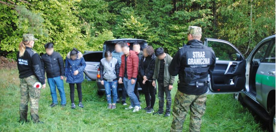SG udaremniła przemyt grupy Wietnamczyków /Straż Graniczna