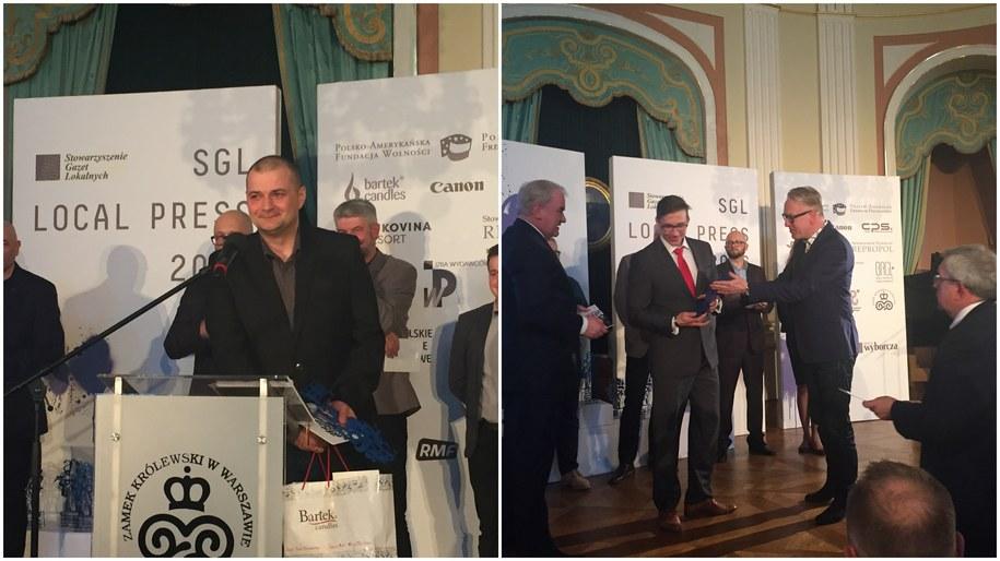 SGL Local Press to konkurs organizowany od dziewięciu lat przez Radę Wydawców Stowarzyszenia Gazet Lokalnych /Paweł Balinowski /RMF FM
