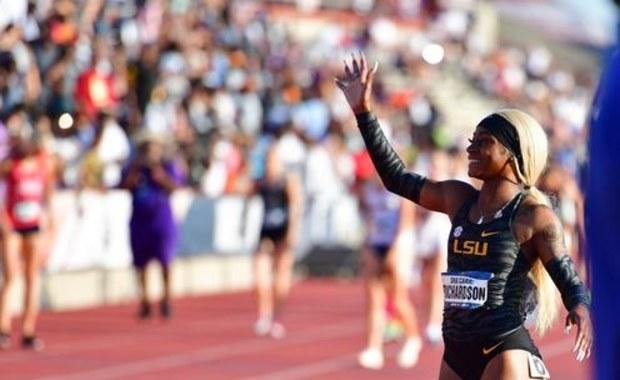Sha'Carri Richardson pobiła rekordy świata w biegu na 100 m i 200 m