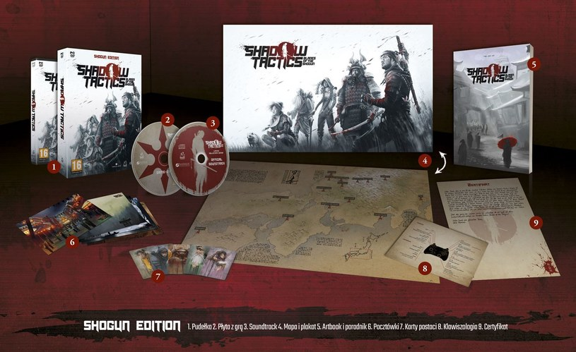 Shadow Tactics: Blades of the Shogun /materiały prasowe