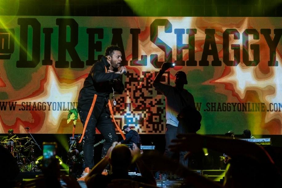 Shaggy na scenie Tauron Life Festival Oświęcim 2017 /Mateusz Moskała/lifefestival.pl /Materiały prasowe
