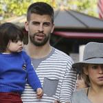 Shakira i Gerard Pique na spacerze z synkiem
