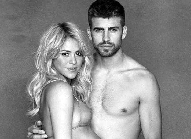Shakira i Gerard Pique /OHPIX.COM  / Twitter /Agencja FORUM