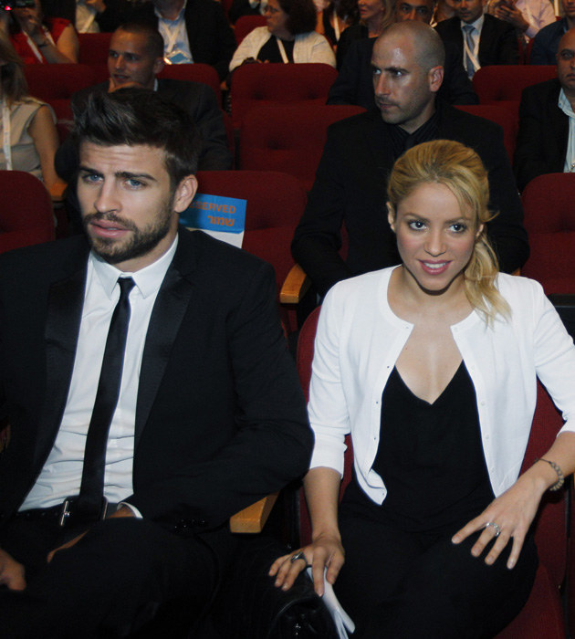 Shakira i Gerard Pique /Pool /Getty Images