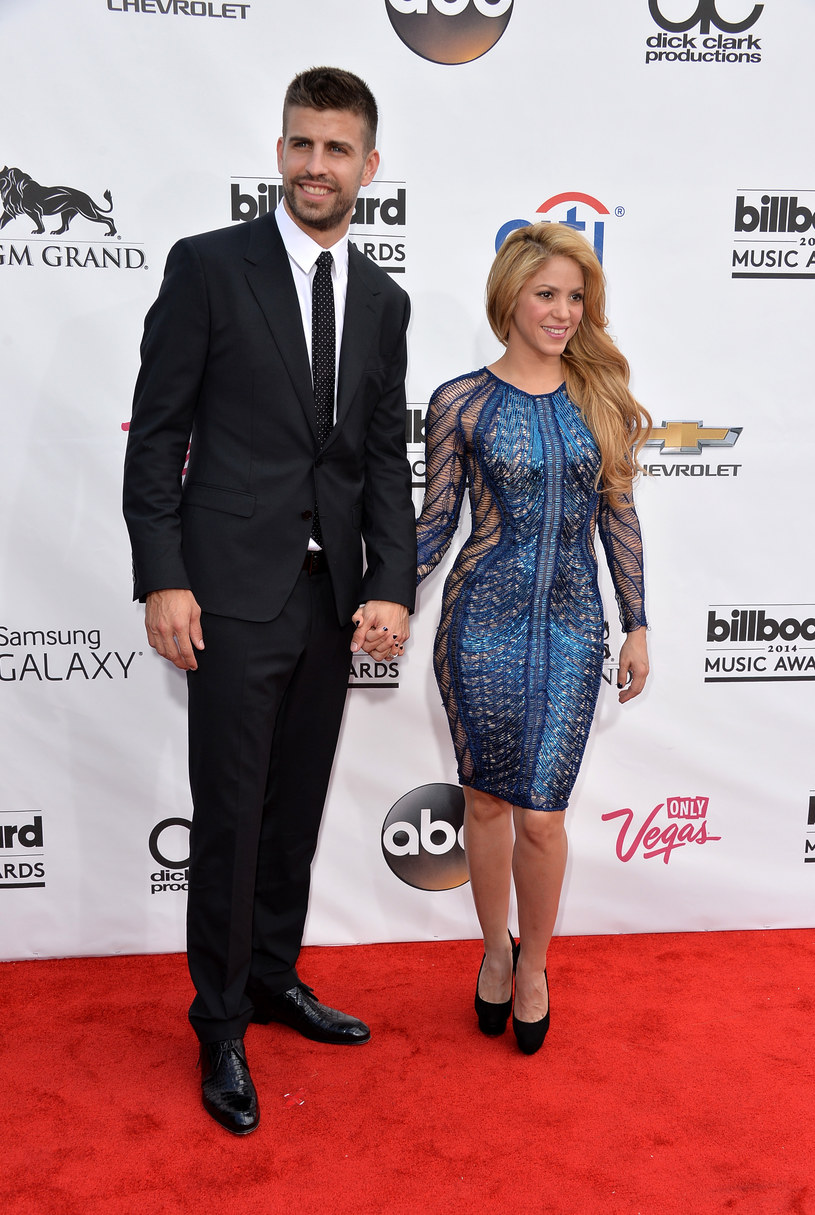 Shakira i Gerard Pique /Frazer Harrison /Getty Images