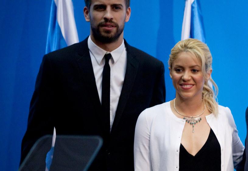 Shakira i Gerard Pique /Uriel Sinai /Getty Images