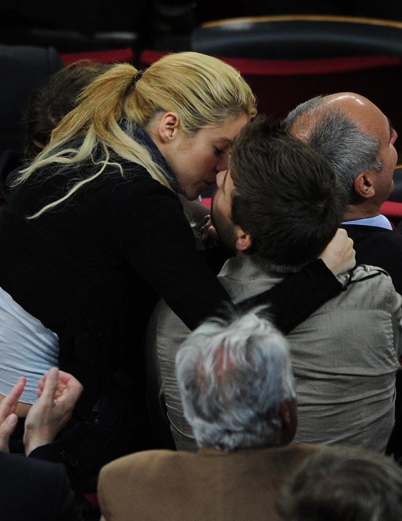 Shakira i Gerard Pique /Jasper Juinen /Getty Images