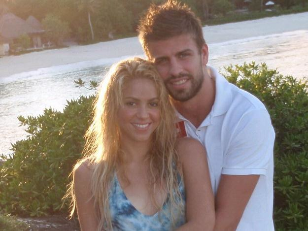 Shakira i jej słoneczko - Gerard Pique /oficjalna strona wykonawcy