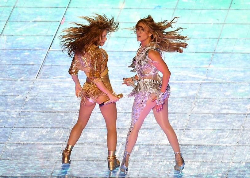 Shakira i Jennifer Lopez /AFP