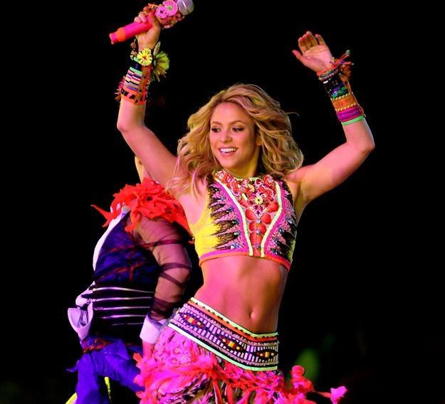 Shakira podczas występu na mundialu w RPA - fot. Clive Rose /Getty Images/Flash Press Media