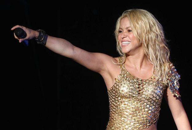Shakira uświetni otwarcie stadionu w Kijowie. /AFP