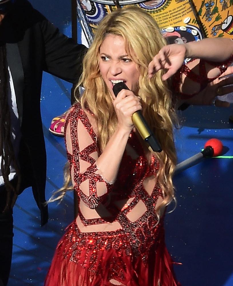 Shakira z lekko zaokrąglonym brzuszkiem /Pool /Getty Images