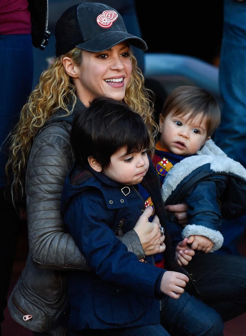 Shakira z synami /David Ramos /Getty Images