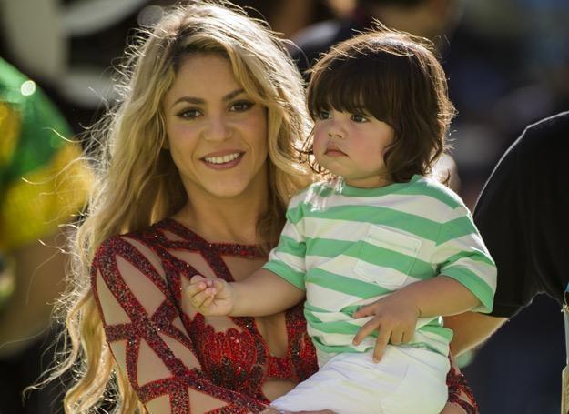 Shakira z synem Milanem /arch. AFP