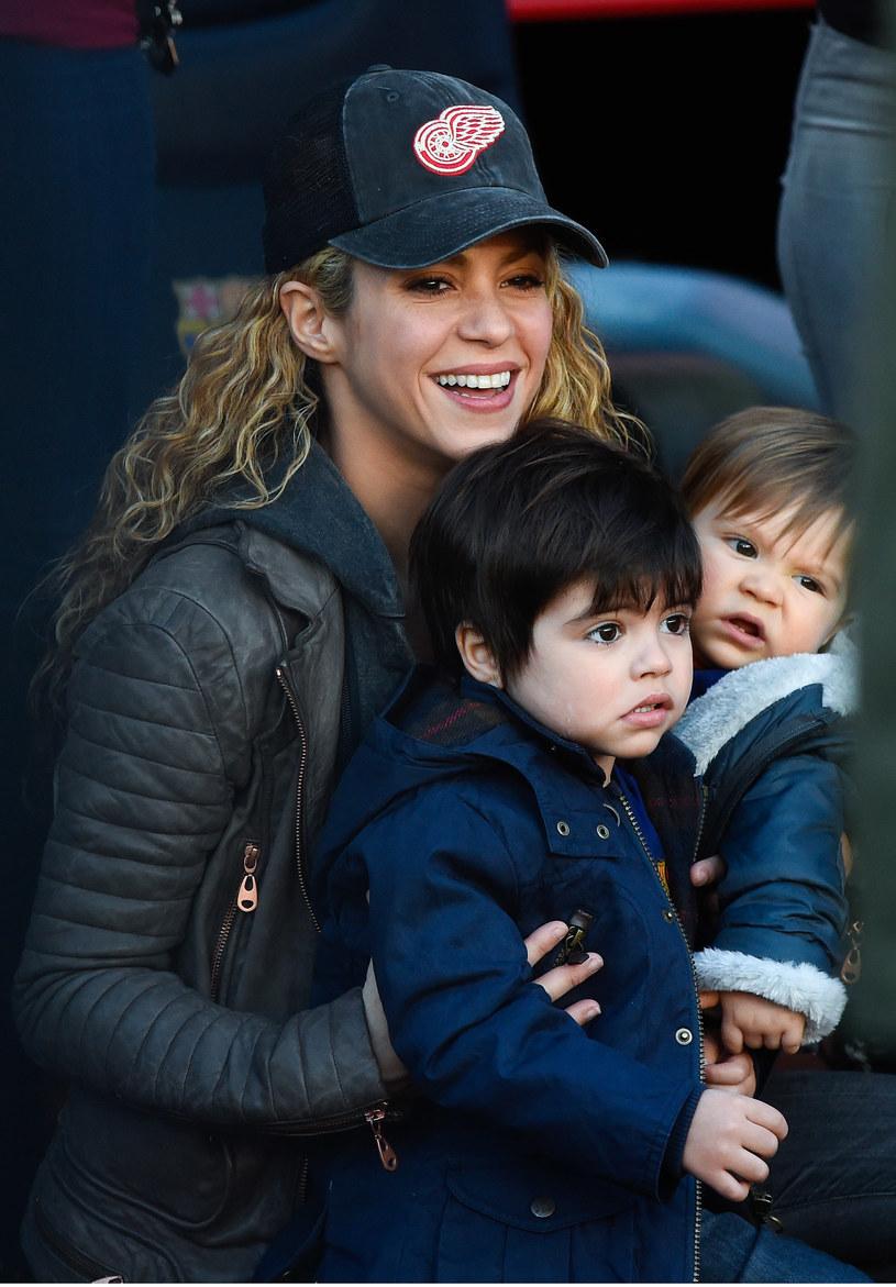 Shakira z synem /David Ramos /Getty Images