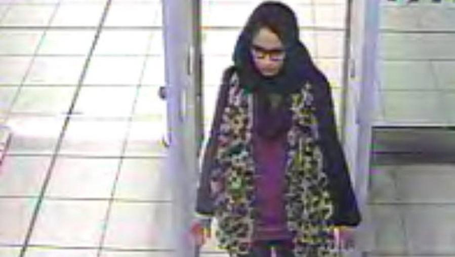 Shamima Begum /LONDON METROPLITAN POLICE / HAND /PAP/EPA