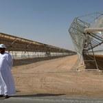 Shams 1 - jedna z największych elektrowni słonecznych świata
