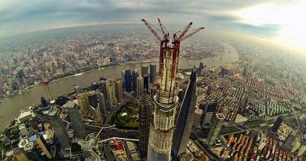 Shanghai Tower w budowie /AFP