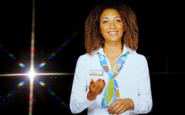 Shanice to hologram, który zastąpi prawdziwych urzędników /materiały prasowe