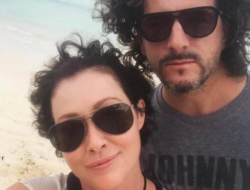 Shannen Doherty z mężem /East News