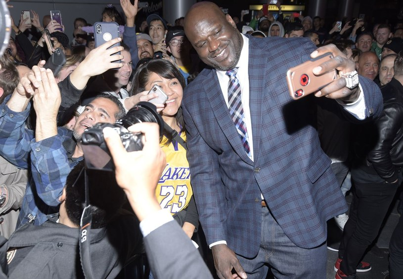 Shaquille O'Neal /AFP