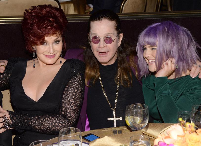 Sharon, Ozzy i Kelly Osbourne /Getty Images