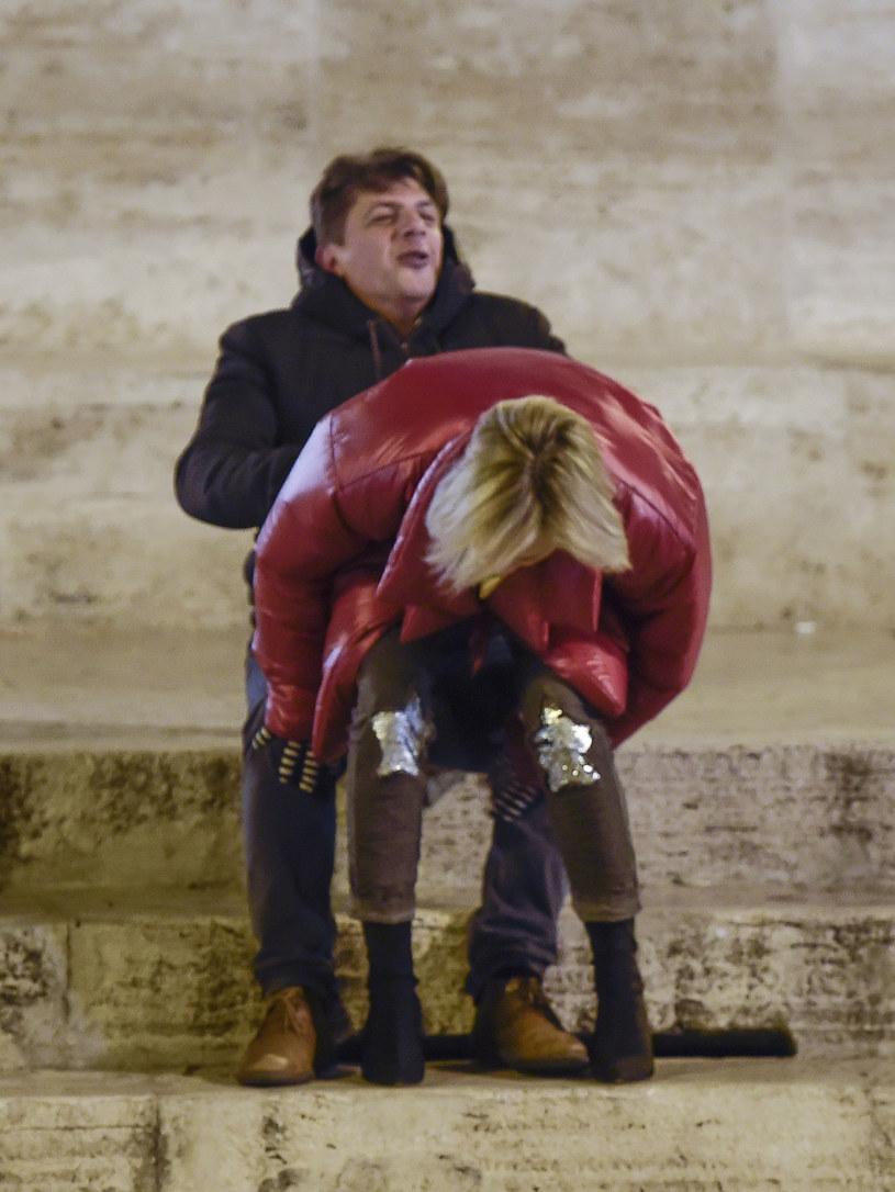 Sharon Stone i Enzo Cursio /Agencja FORUM