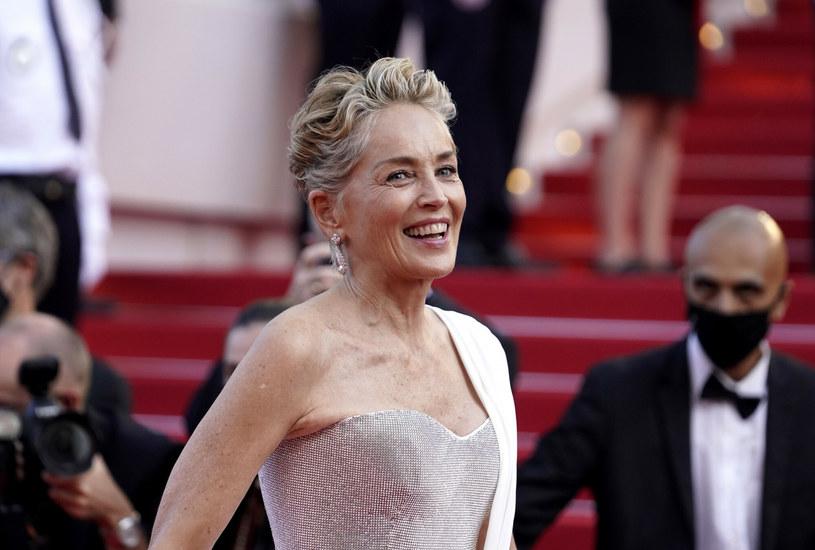 Sharon Stone na tegorocznym festiwalu w Cannes /AP/Associated Press/East News /East News
