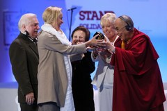 Sharon Stone odebrała Nagrodę Pokoju
