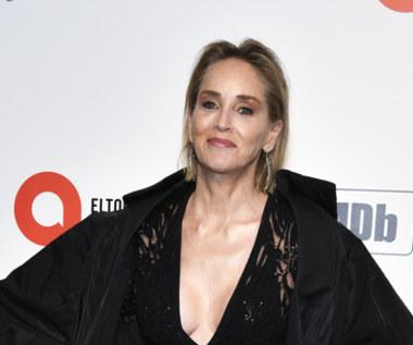 Sharon Stone poraził piorun