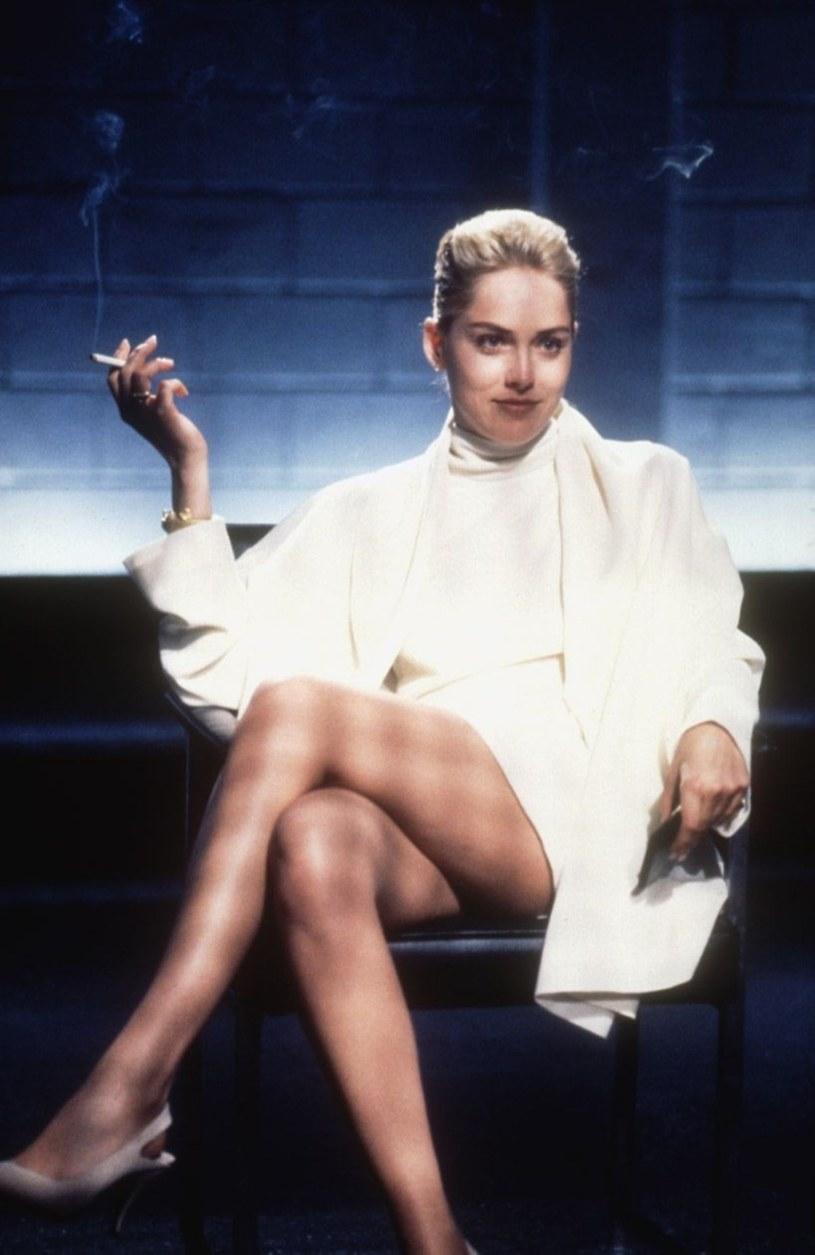 "Sharon Stone w ""Nagim Instynkcie"" /Everett Collection /East News"