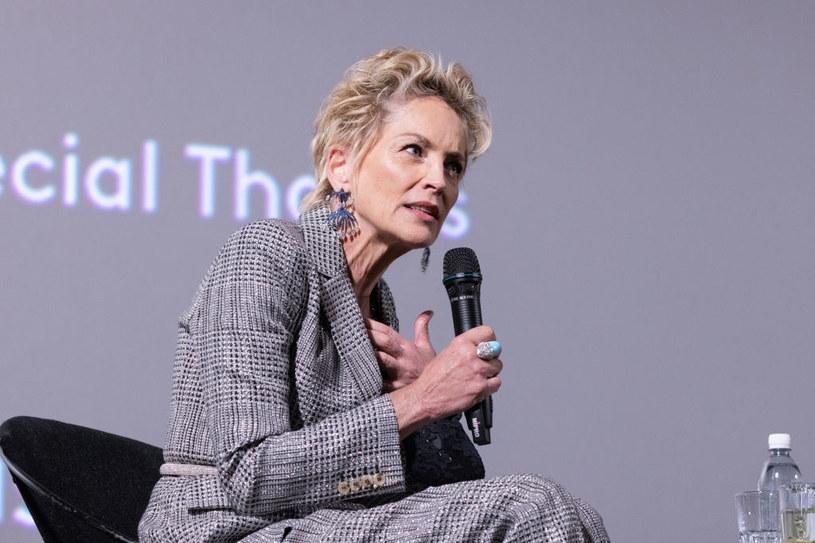 Sharon Stone wzięła  udział w konferencji prasowej podczas festiwalu filmowego w Zurychu / Andreas Rentz / Staff /Getty Images
