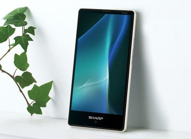 Sharp Aquos Mini SH-M03 posiada wyświetlacz o przekątnej 4,7-cala i rozdzielczości Full HD /materiały prasowe
