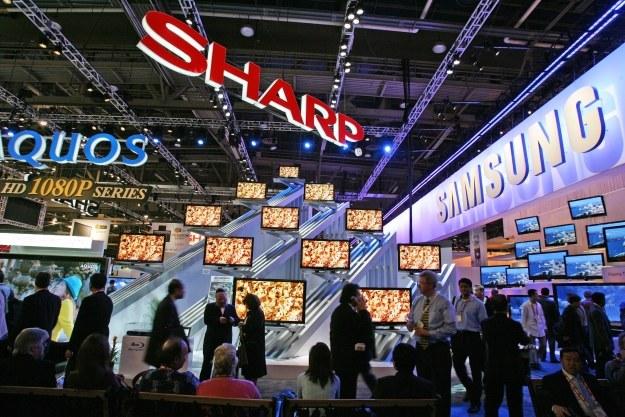 Sharp pracuje nad ekranami 4K dla smartfonów /AFP