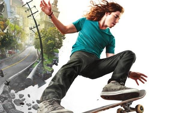 Shaun White Skateboarding - motyw graficzny /Informacja prasowa