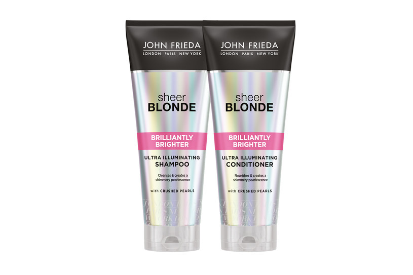Sheer Blonde Brilliantly Brighter, John Frieda /materiały prasowe