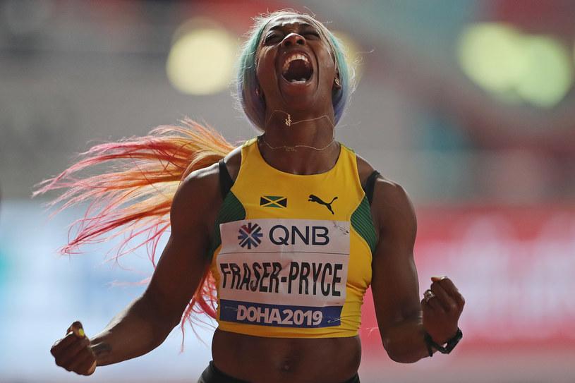 Shelly-Ann Fraser-Pryce /KARIM JAAFAR  /AFP