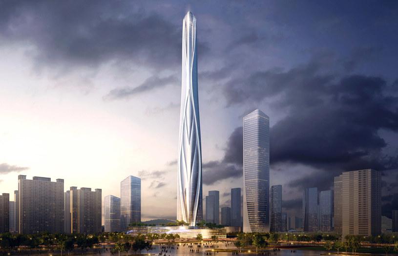 Shenzhen-Hong Kong International Center /materiały prasowe