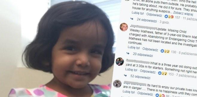 Sherin Mathews miała tylko trzy lata /INTERIA.PL/materiały prasowe