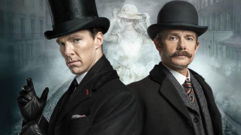 """""""Sherlock i upiorna panna młoda"""" /TVP /materiały prasowe"""