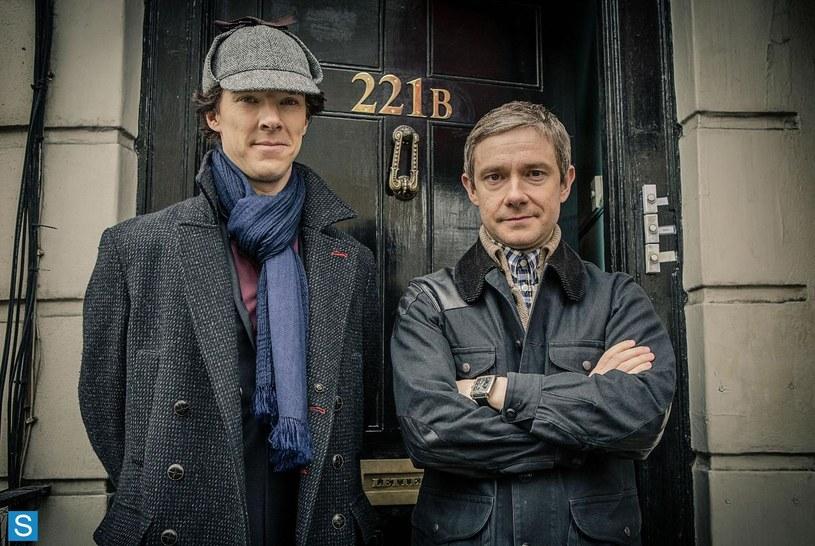 """""""Sherlock"""" to współczesna adaptacja kryminałów Sir Arthura  Conan Doyle'a /BBC"""