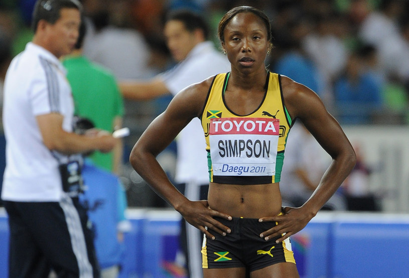 Sherone Simpson /AFP