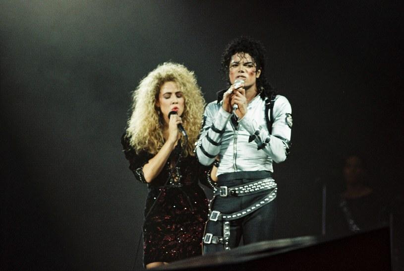 Sheryl Crow i Michael Jackson /Peter Still/Redferns /Getty Images