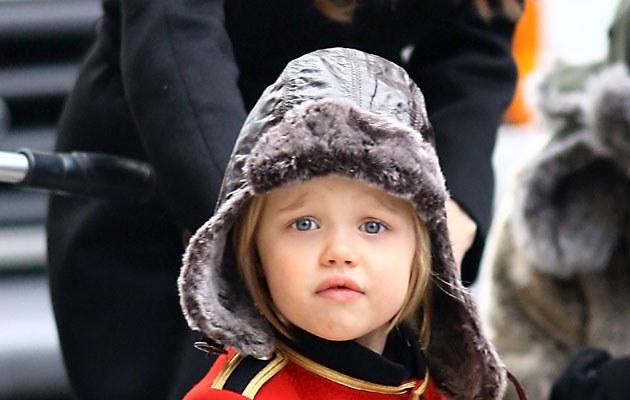 Shiloh Jolie-Pitt, pierwsze biologiczne dziecko hollywoodzkiej pary.  /Splashnews