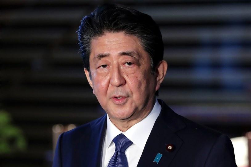 Shinzo Abe, premier Japonii dzisiaj w Tokio /AFP