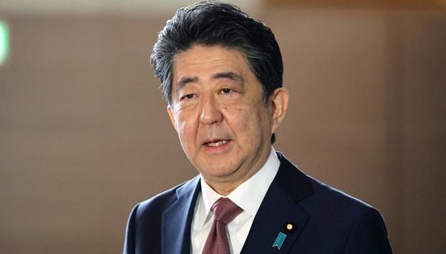 Shinzo Abe /JIJI PRESS /PAP/EPA