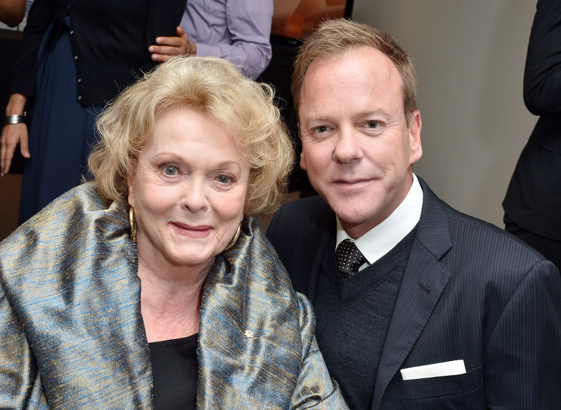 Shirley Douglas z synem, Kieferem Sutherlandem /George Pimentel /Getty Images